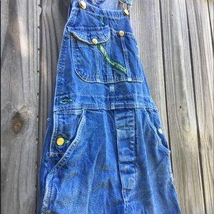 Denim - Key vintage overalls